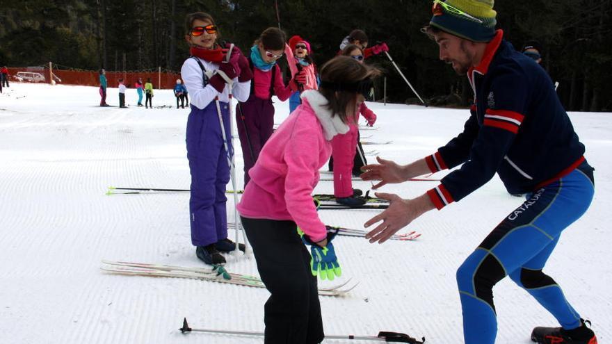 Les estacions d'esquí nòrdic demanen al Govern decisions «sòlides i consistents» arran del fre a l'Esport Blanc Escolar