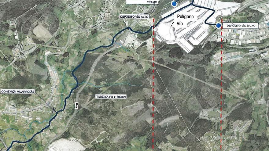 Emalcsa prevé ejecutar en 2021 un 30% de la inversión para el primer tramo del colector de agua a Morás