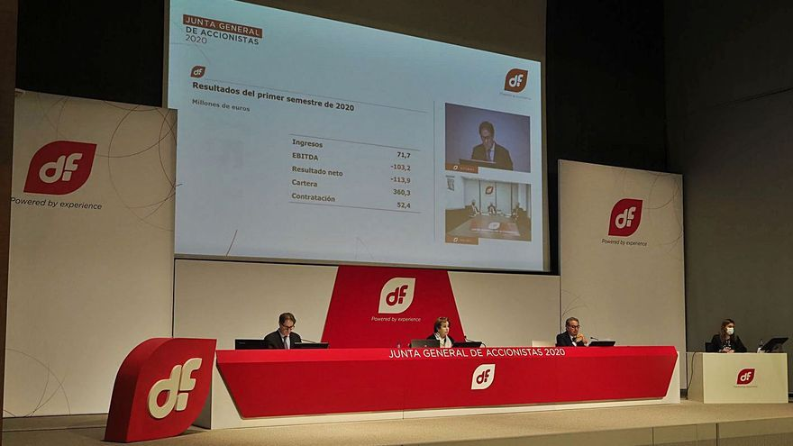 Duro negoció con la SEPI el cobro urgente de 20 millones en cuanto fuera oficial el rescate