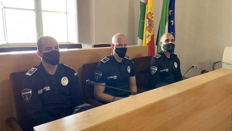 El plantel de la policía local de Almendralejo estará al 90% en los próximos meses