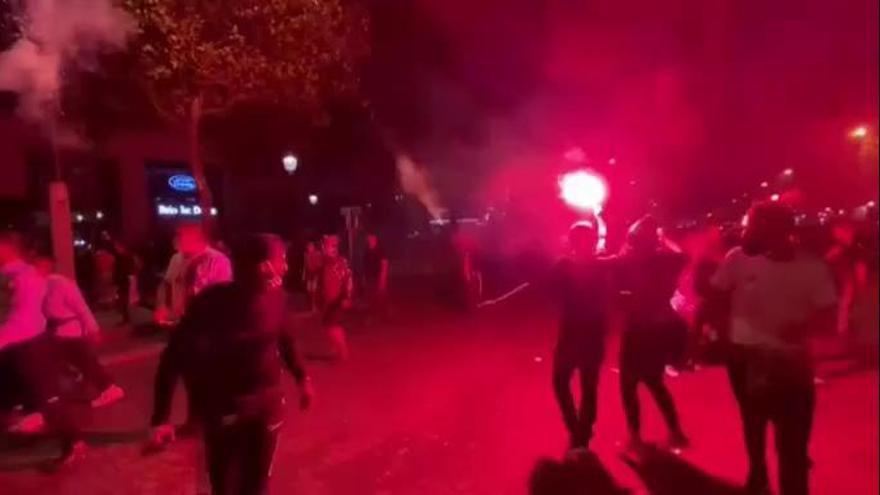 148 detenidos en los incidentes en París