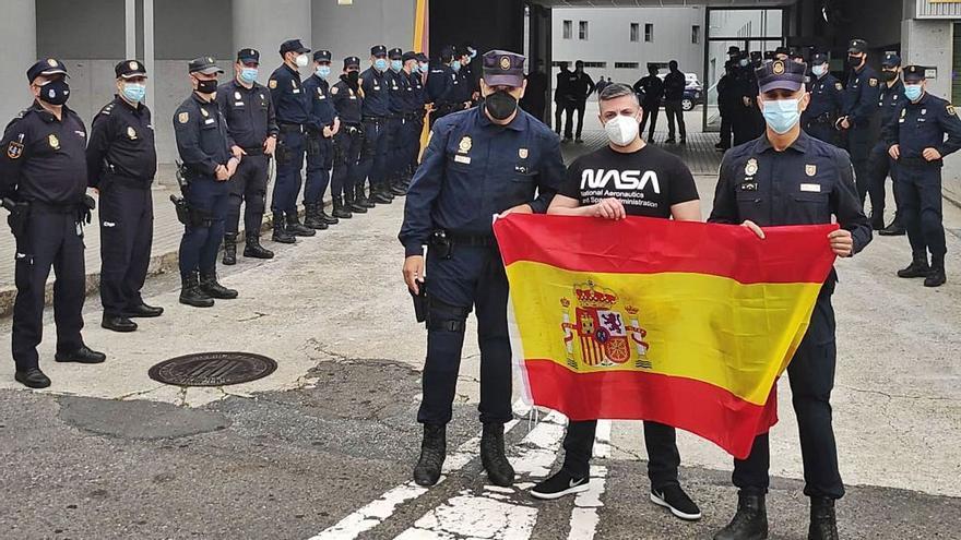 """El antidisturbios jubilado a los 45 años por sus heridas en Barcelona: """"Mi carrera se acabó aquella noche fatídica"""""""
