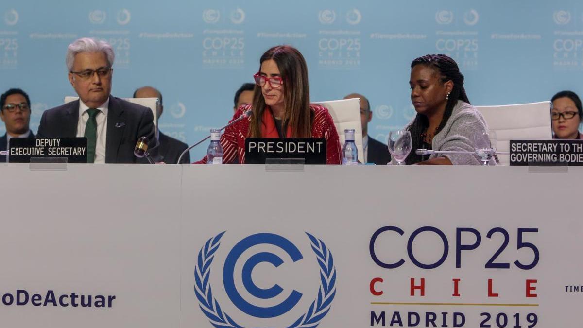 La presidenta de la Cumbre del Clima, Carolina Schmidt.