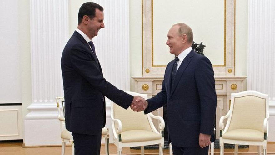 Bombardeos y pánico en Siria ante la reunión de Putin y Erdogan