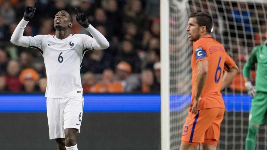 Portugal golea y Francia vence a Holanda en Ámsterdam