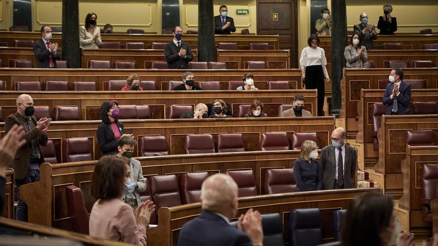 El Congreso aprueba por unanimidad tramitar la derogación del voto rogado