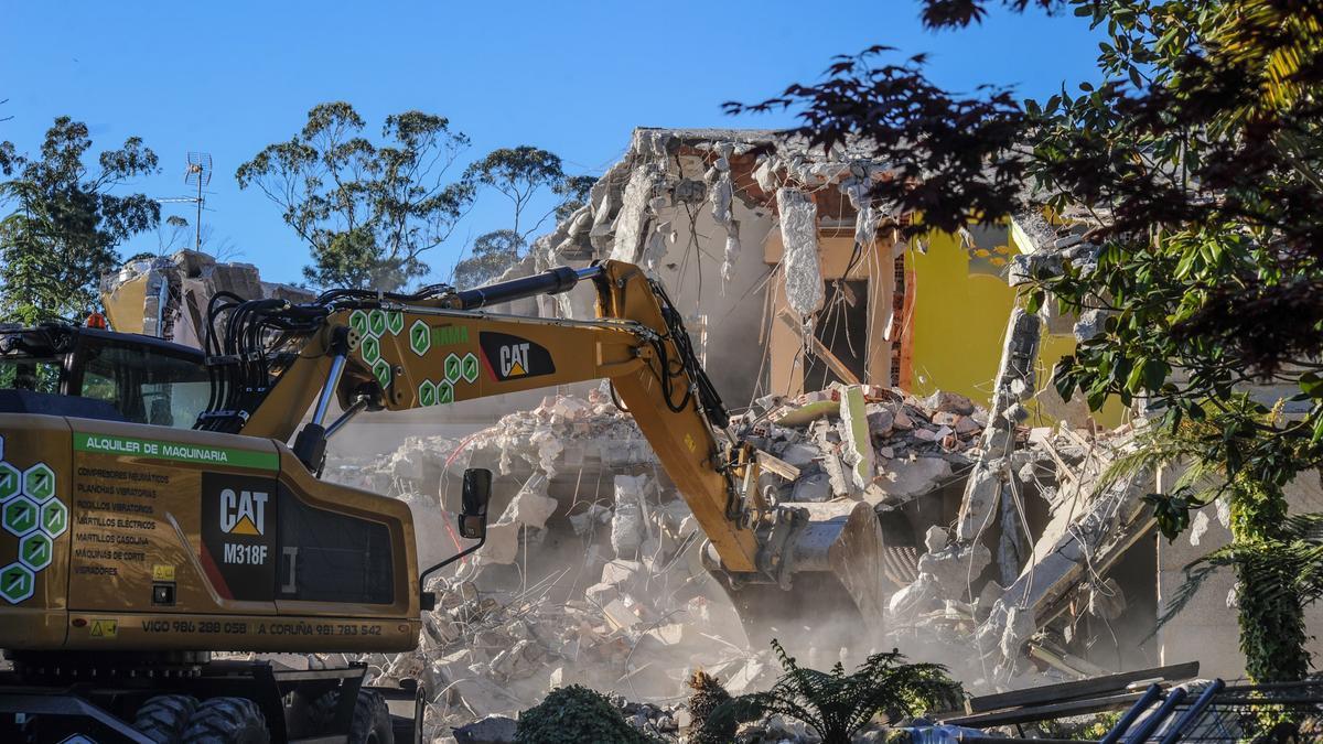 Imagen de archivo de una demolición de la APLU.