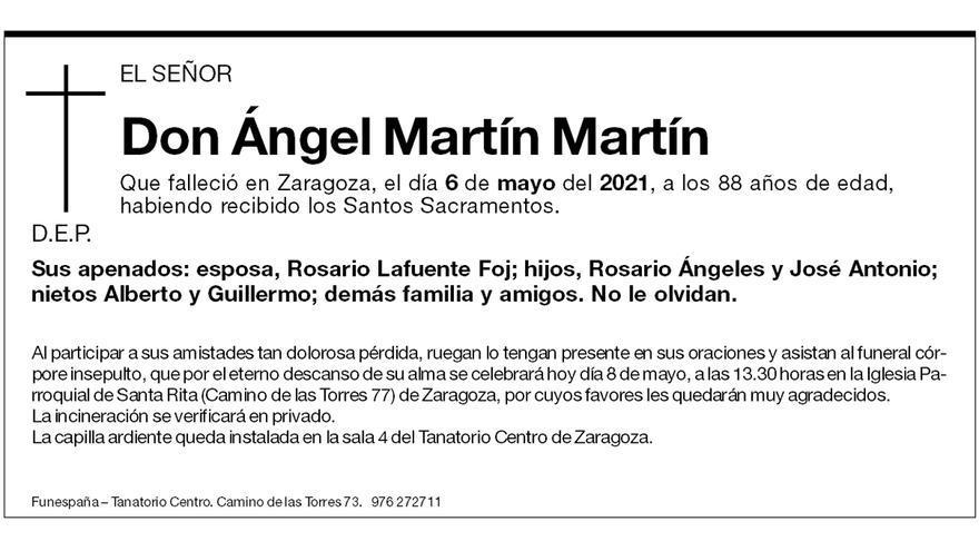 Ángel Martín Martín