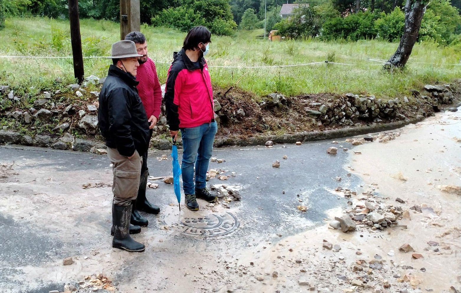 Daños ocasionados por el temporal en Llanes