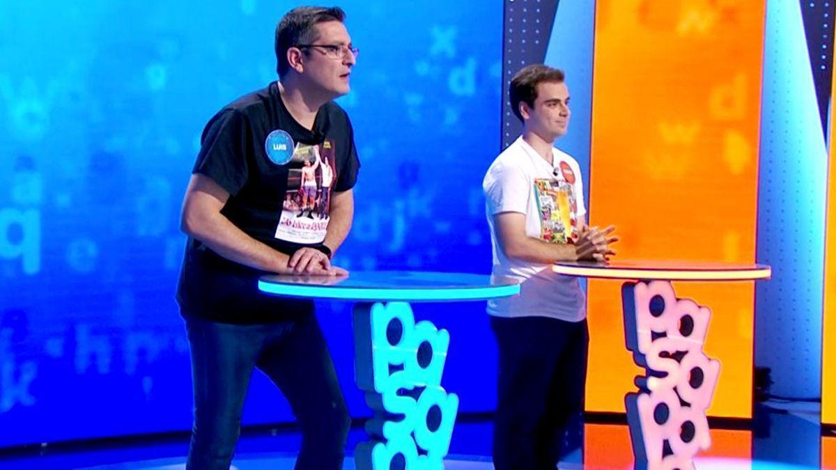 Luis y Pablo, en 'Pasapalabra' de Antena 3.