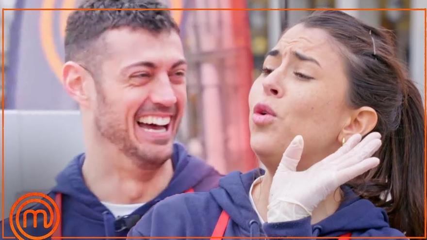 La concursante gallega encuentra el amor en Masterchef 9