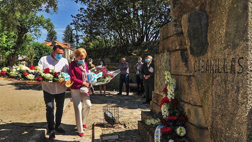 Cambados celebra el centenario del ingreso de Ramón Cabanillas en la RAG