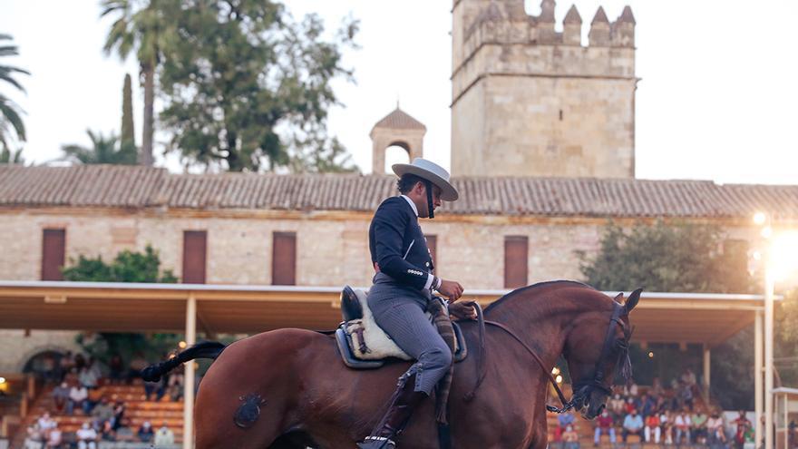 El jinete Rafael Arcos vence en la Copa de España de Doma Vaquera