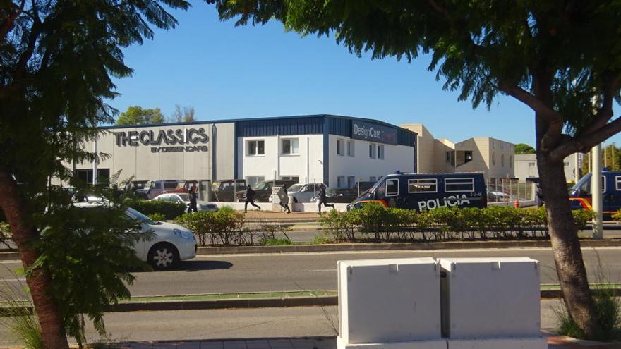 Macrooperación contra una red de narcos y blanqueo en València, Xàbia y Alicante