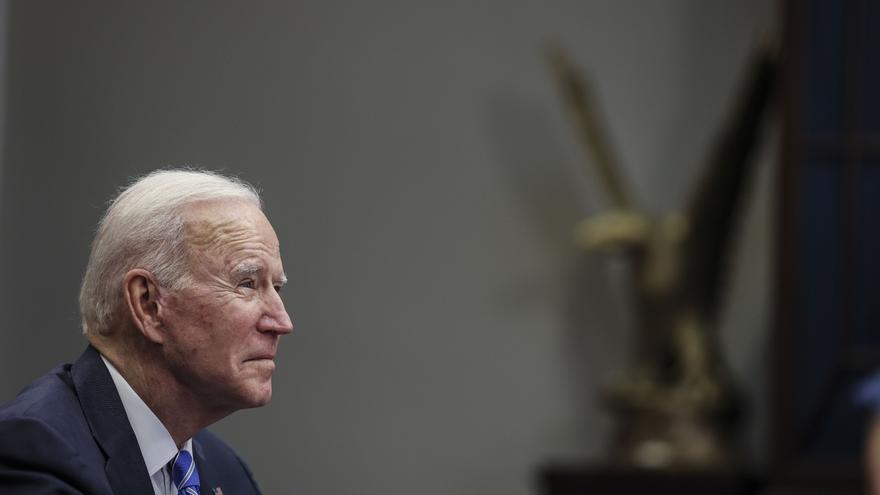 Biden dará su primer discurso a la nación en la hora de máxima audiencia el jueves