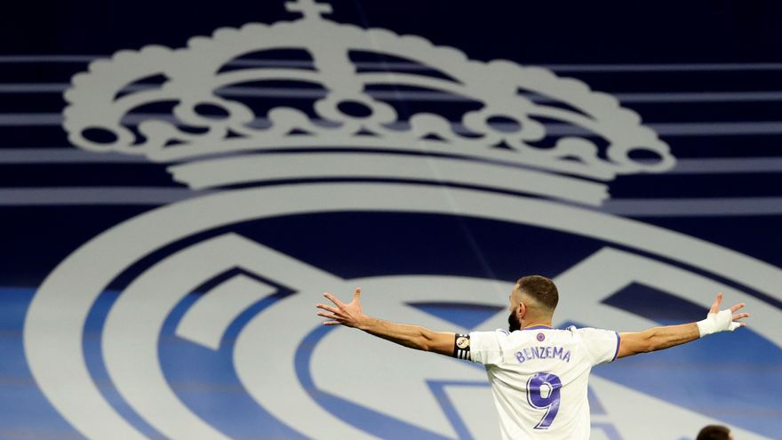 """Benzema no escatima en elogios para el Real Madrid: """"Es toda mi vida"""""""
