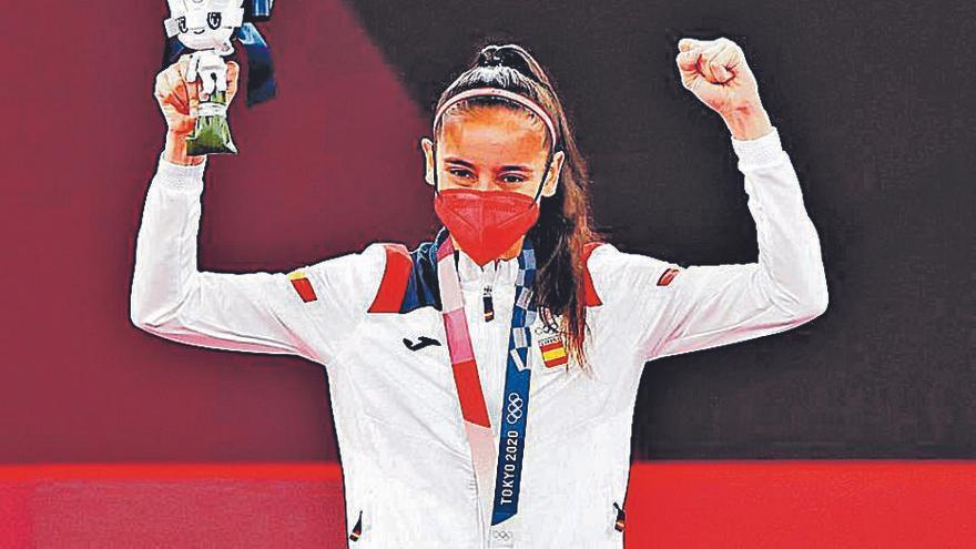 """Adriana Cerezo, medallista en Tokio 2020: """"Pienso en la final casi todos los días"""""""