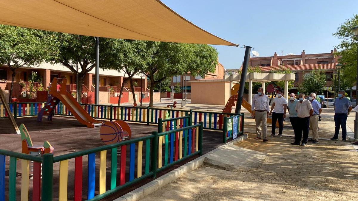 Visita a las obras que se han realizado en El Puntal