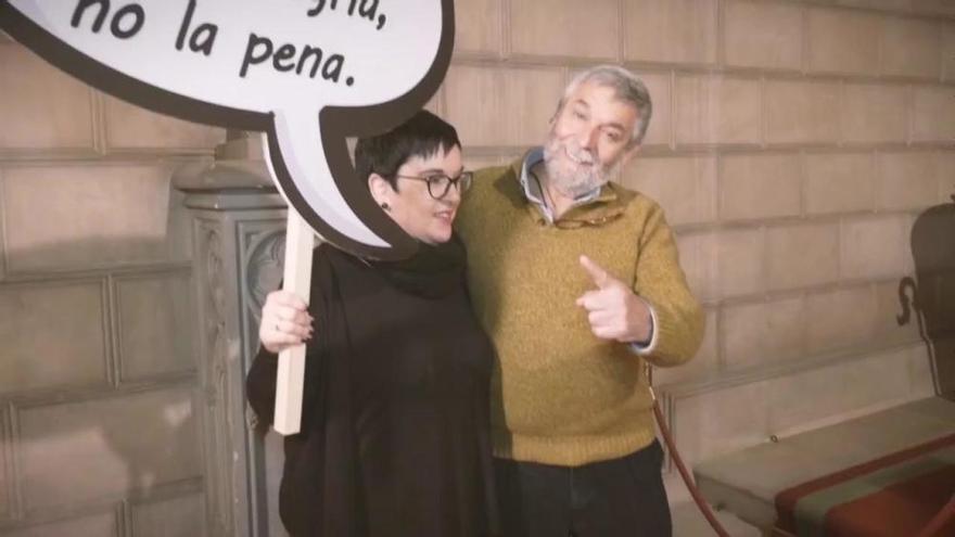 "'Mannequin challenge' en el Consell para ""desmontar San Valentín"""