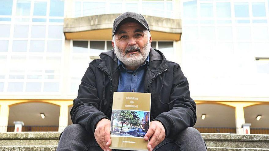 """Xabier Maceiras: """"Eu entendo que Arteixo está medrando e a xente estase indo e con ela a memoria"""""""
