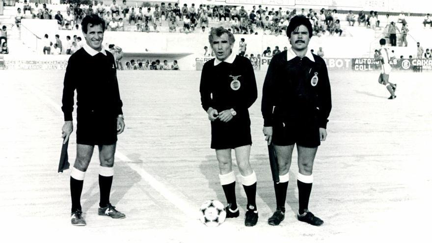 El fútbol balear despide al exárbitro Pascual Segura