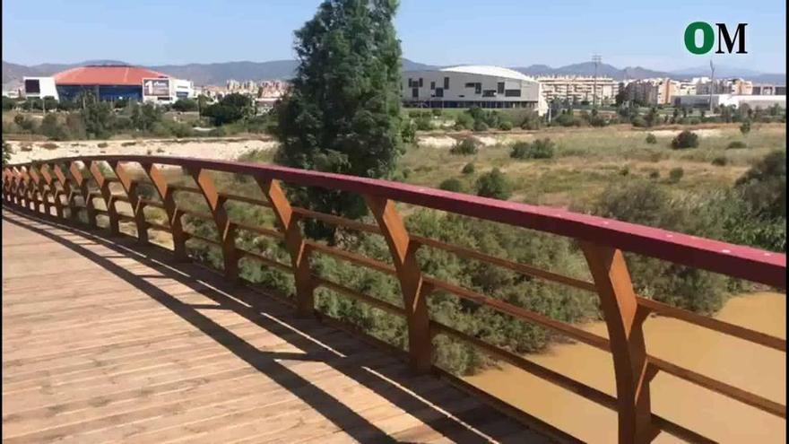 La pasarela sobre el Guadalhorce se inaugura, por fin, este domingo