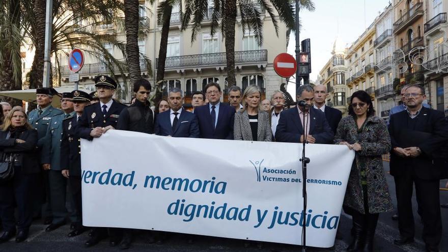 """Las víctimas del terrorismo piden """"verdad, justicia, dignidad y memoria"""""""