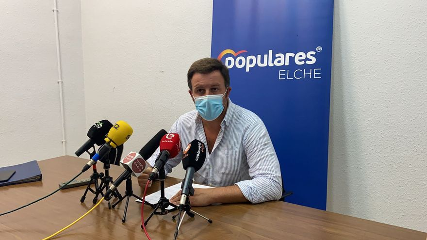 Pablo Ruz contraataca: pide al alcalde de Elche que baje los impuestos en 2022