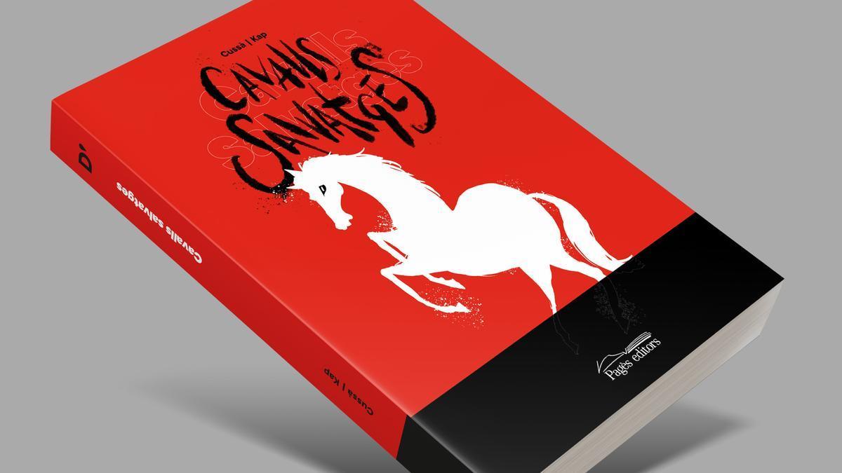 Portada de la novel·la gràfica 'Cavalls Salvatges'