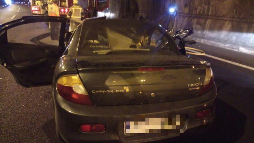Una veïna de Vilassar de Dalt de 65 anys mor en xocar un cotxe i un camió a l'Eix a Arbúcies
