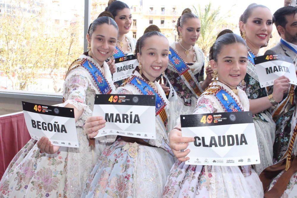 La Fundación Trinidad Alfonso trajo el Maratón de València al balcón
