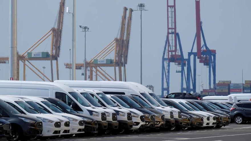 La exportación valenciana se hunde un 24 % en el segundo trimestre