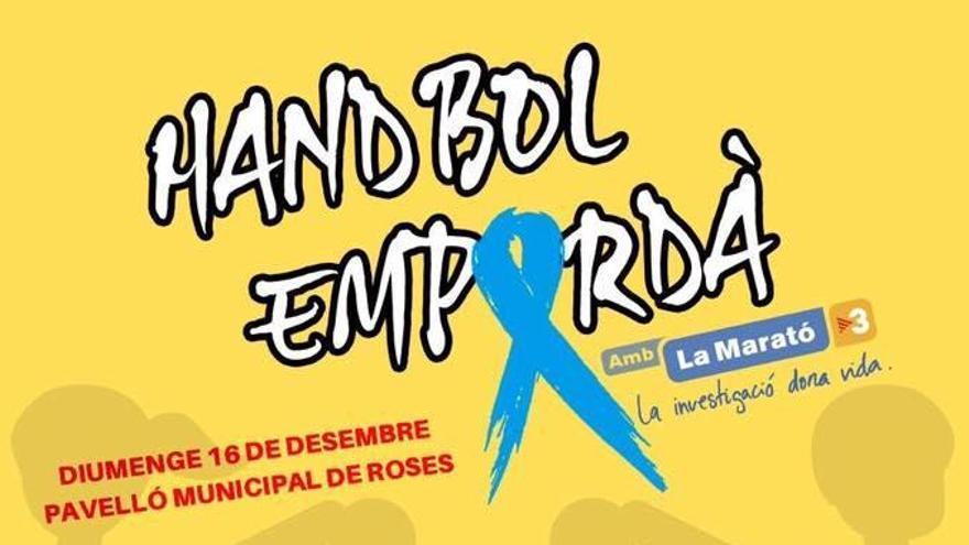 L'Handbol Empordà, amb La Marató de TV3