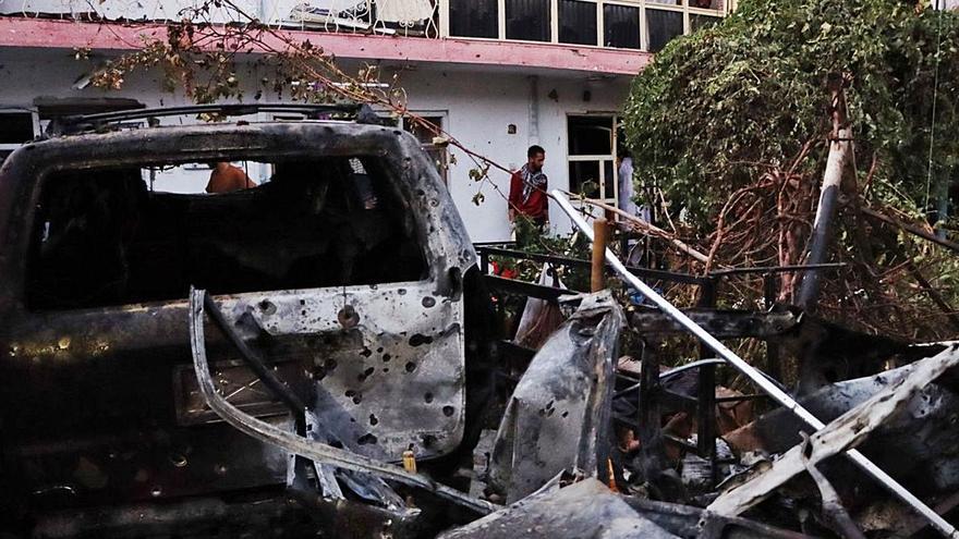 La sortida de l'Afganistan posa en dubte l'estratègia de Biden respecte als drons