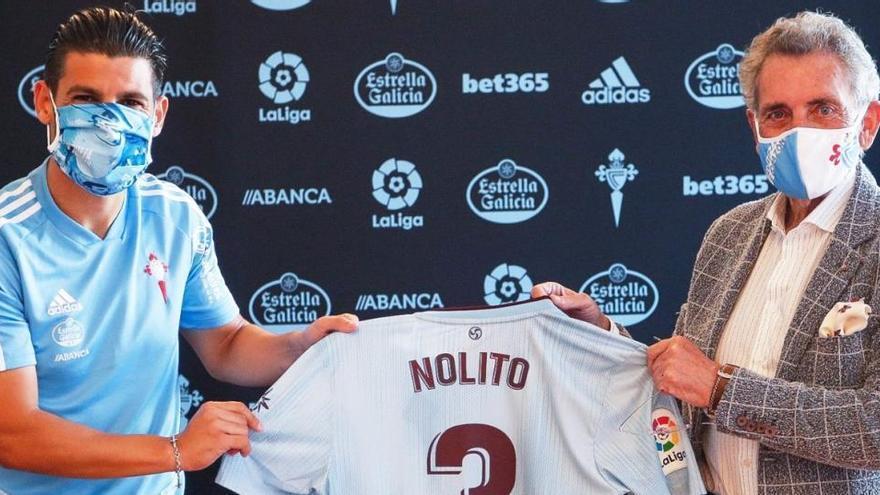 Nolito estampa su firma como nuevo jugador del Celta