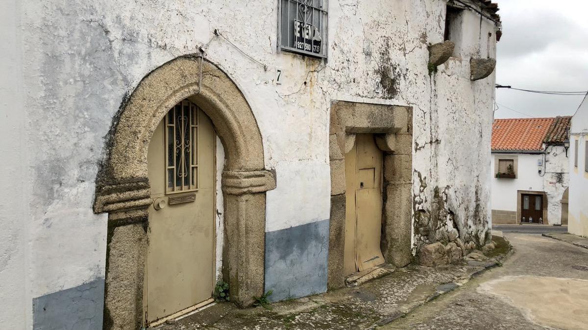 Casas bonitas en Valencia de Alcántara