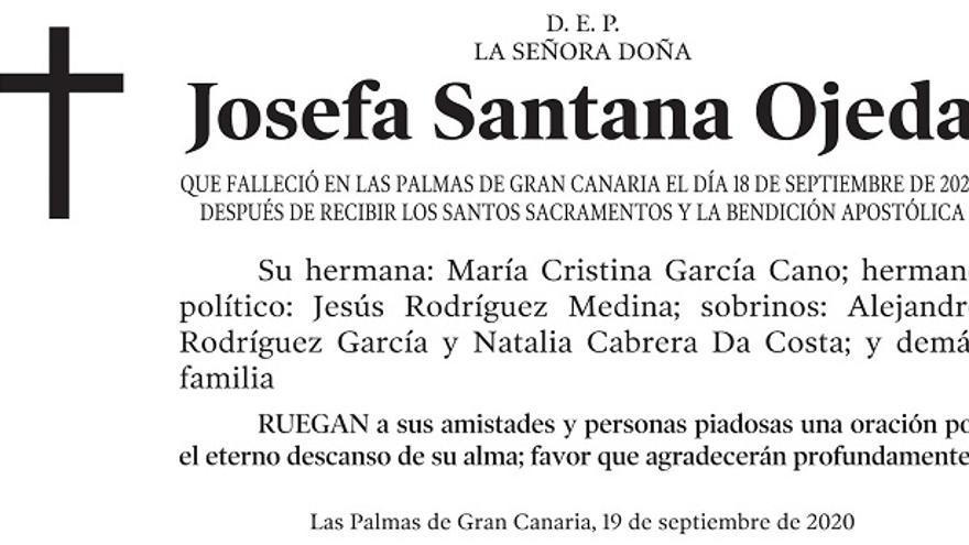 Josefa Santana Ojeda