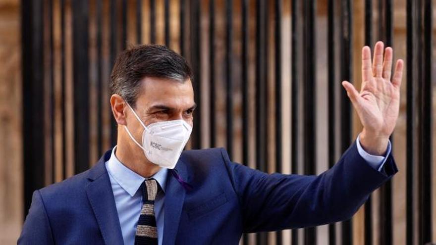 """Sánchez asegura que estamos ante """"el principio del fin de la pandemia"""""""