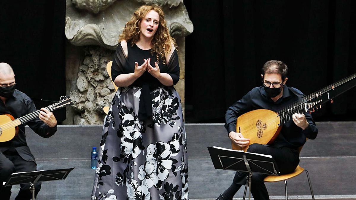 Tintes barrocos de Raquel Andueza en el Festival de Música Antigua   JUAN PLAZA