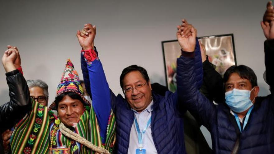Luis Arce, camino de emular a Evo Morales en su primera elección en Bolivia