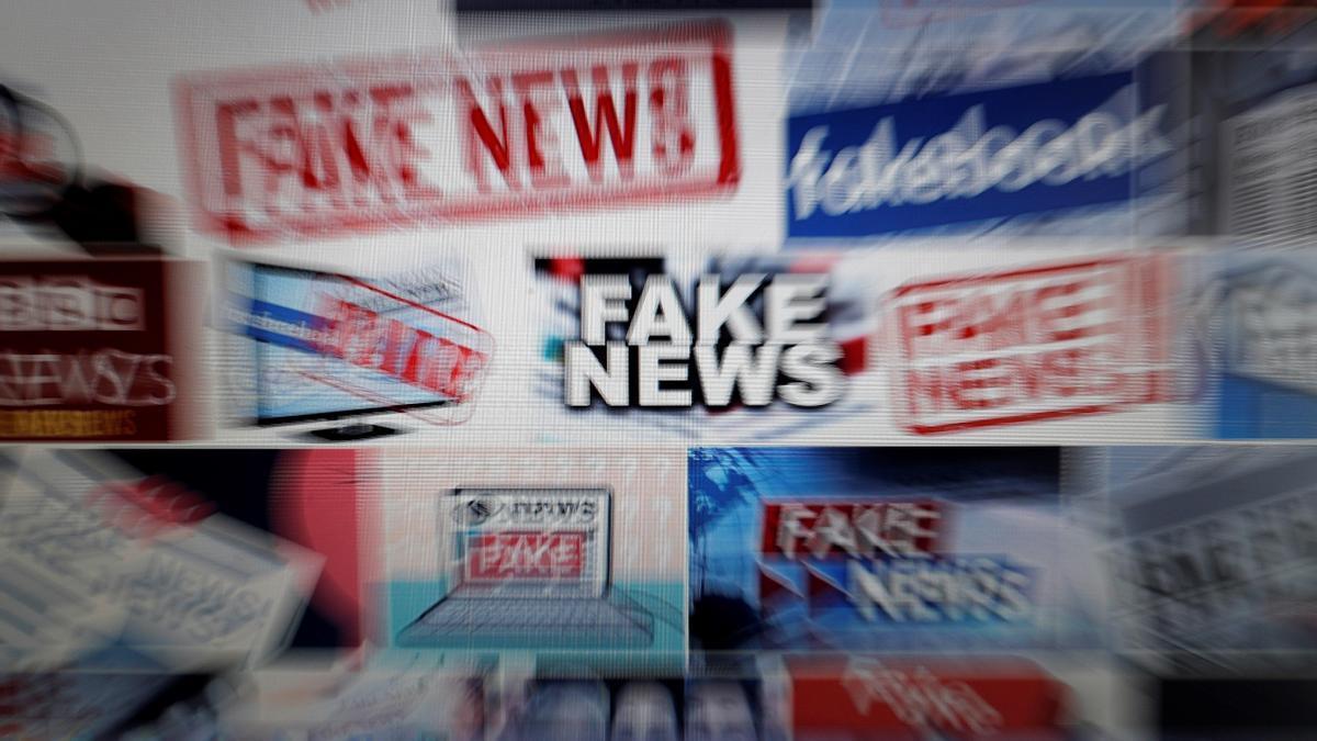 Imagen de archivo sobre bulos y fake news