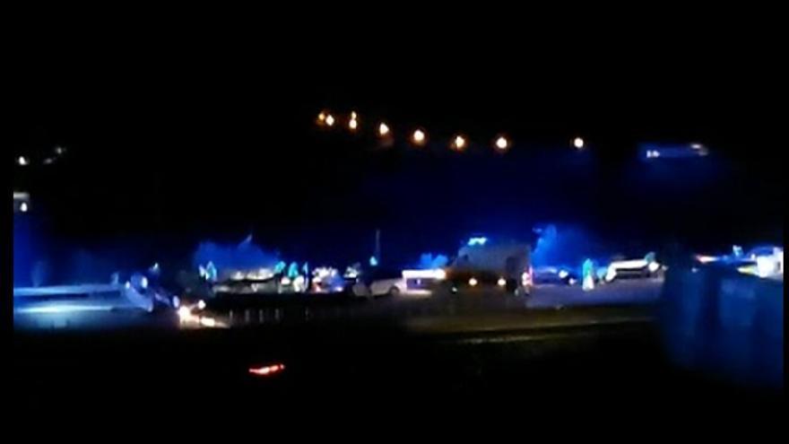 Un fallecido en una colisión en la autopista del norte de Tenerife