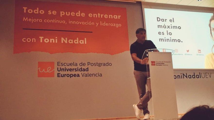 """Toni Nadal: """"El que se acostumbra a dar el máximo, consigue lo más importante en la vida: la satisfacción personal"""""""