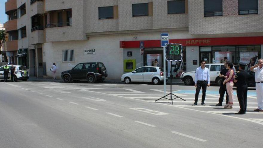 Un rádar para informar y no para multar en Almassora