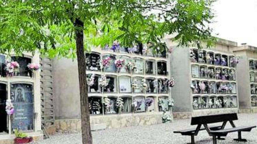 La Diputació subvenciona l'ampliació d'urgència del cementiri de Vilanova