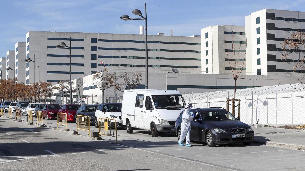 Imagen del Hospital la Fe de Valencia
