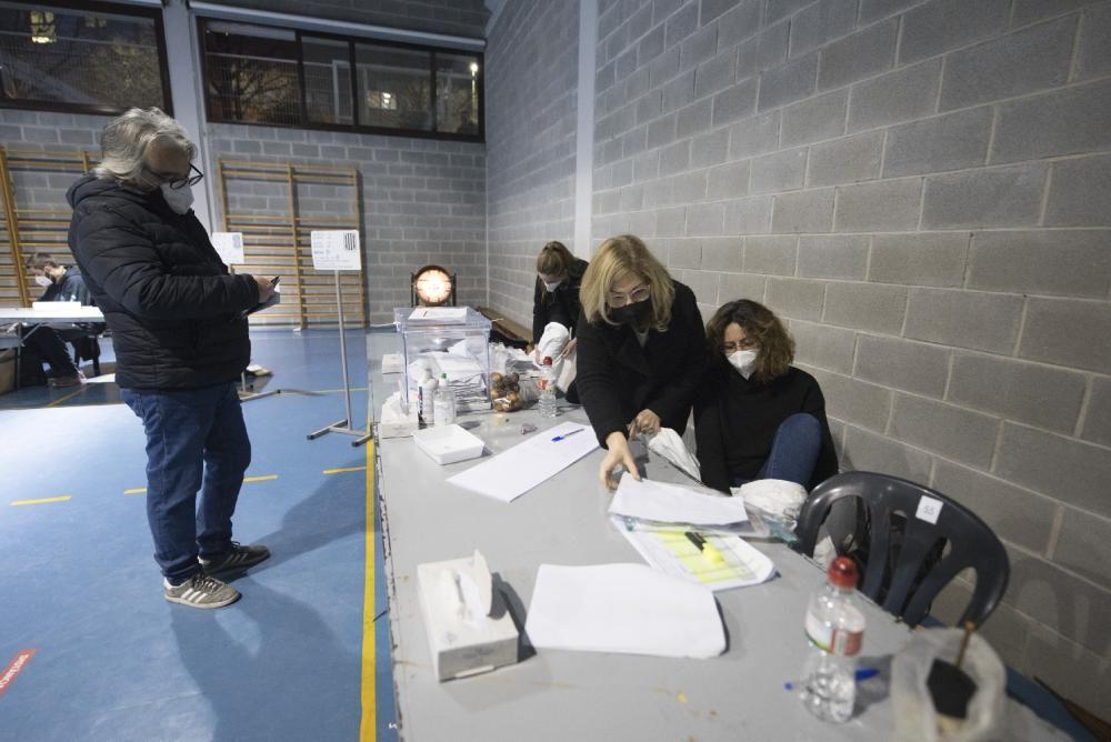 L'hora reservada per als votants positius, al Lluís de Peguera