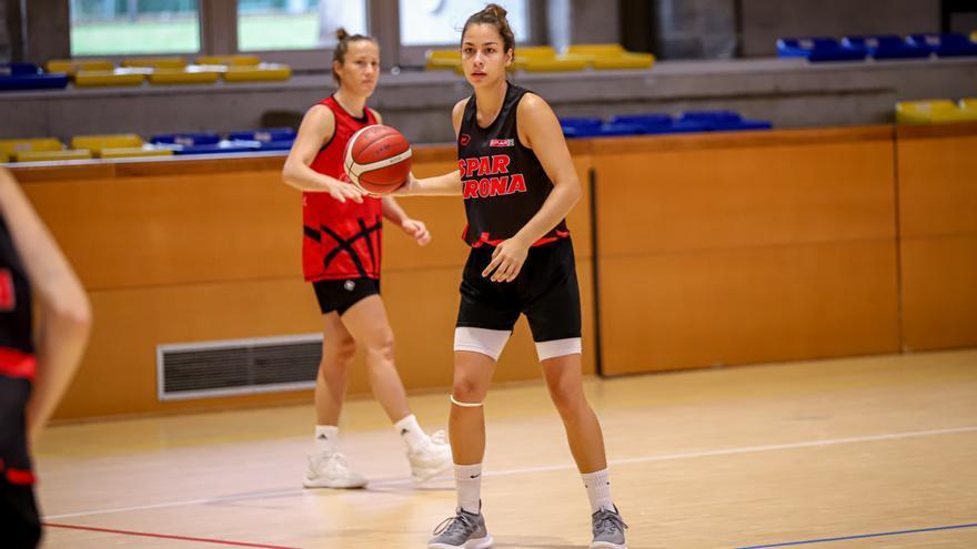 L'Spar Girona fa el primer entrenament a Camprodon