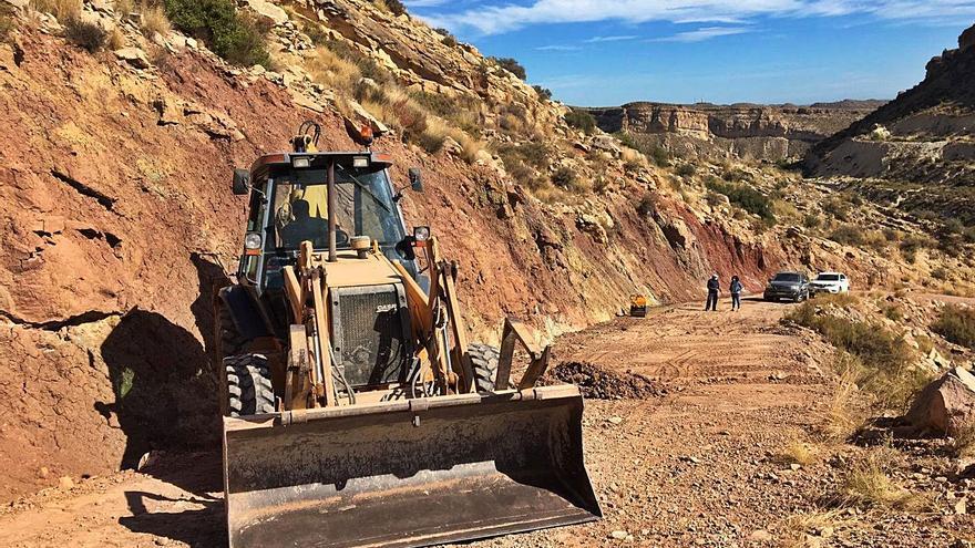 Crevillent reinicia las obras de mejora de pistas forestales para prevenir los incendios