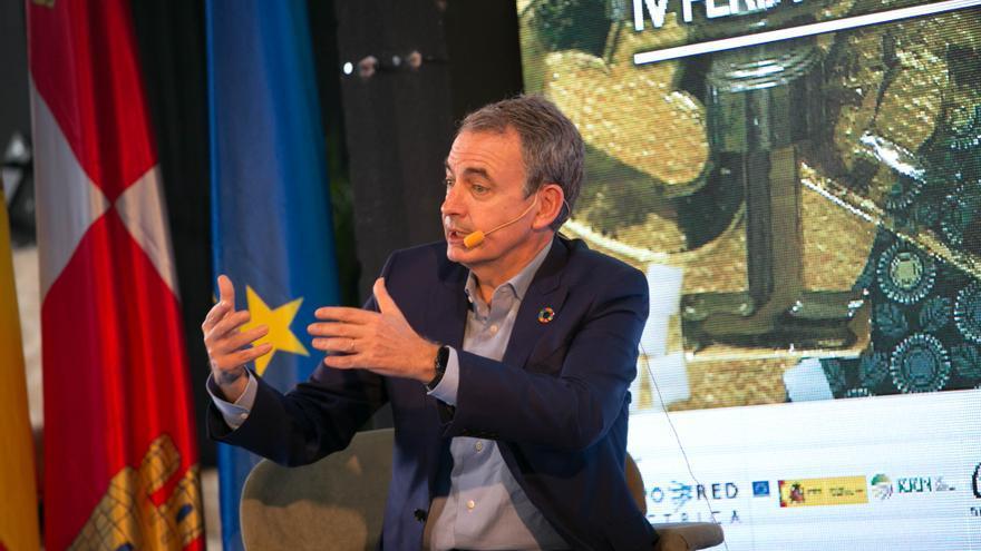 Zapatero pide abrirse a la inmigración para luchar contra la despoblación en la España vaciada
